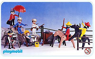 3407-A Super Set Cow-boys / Mexicains detail image 1