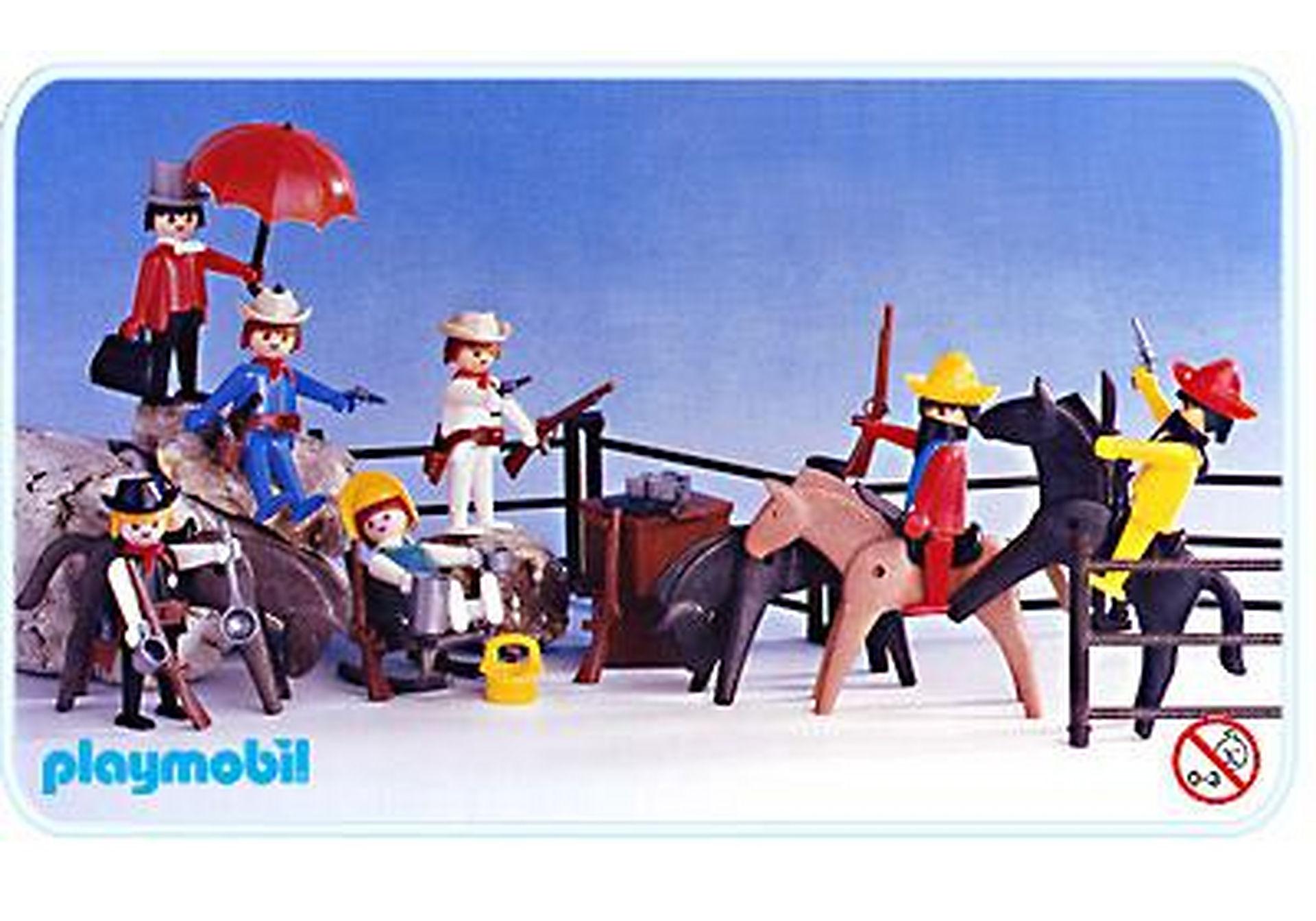 3407-A Super Set Cow-boys / Mexicains zoom image1