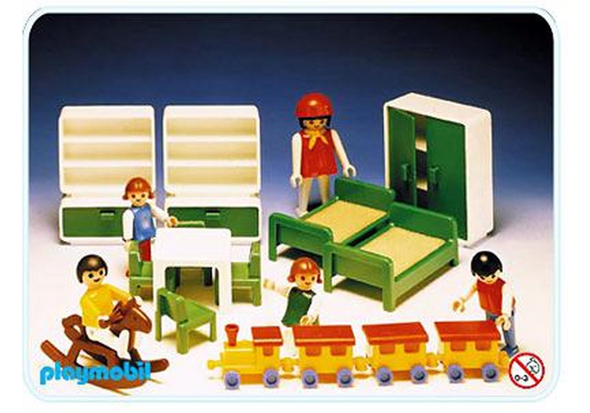 Chambre d 39 enfants 3417 a playmobil france - Playmobil chambre enfant ...