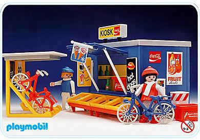 3418-A Kiosk/Fahrradständer
