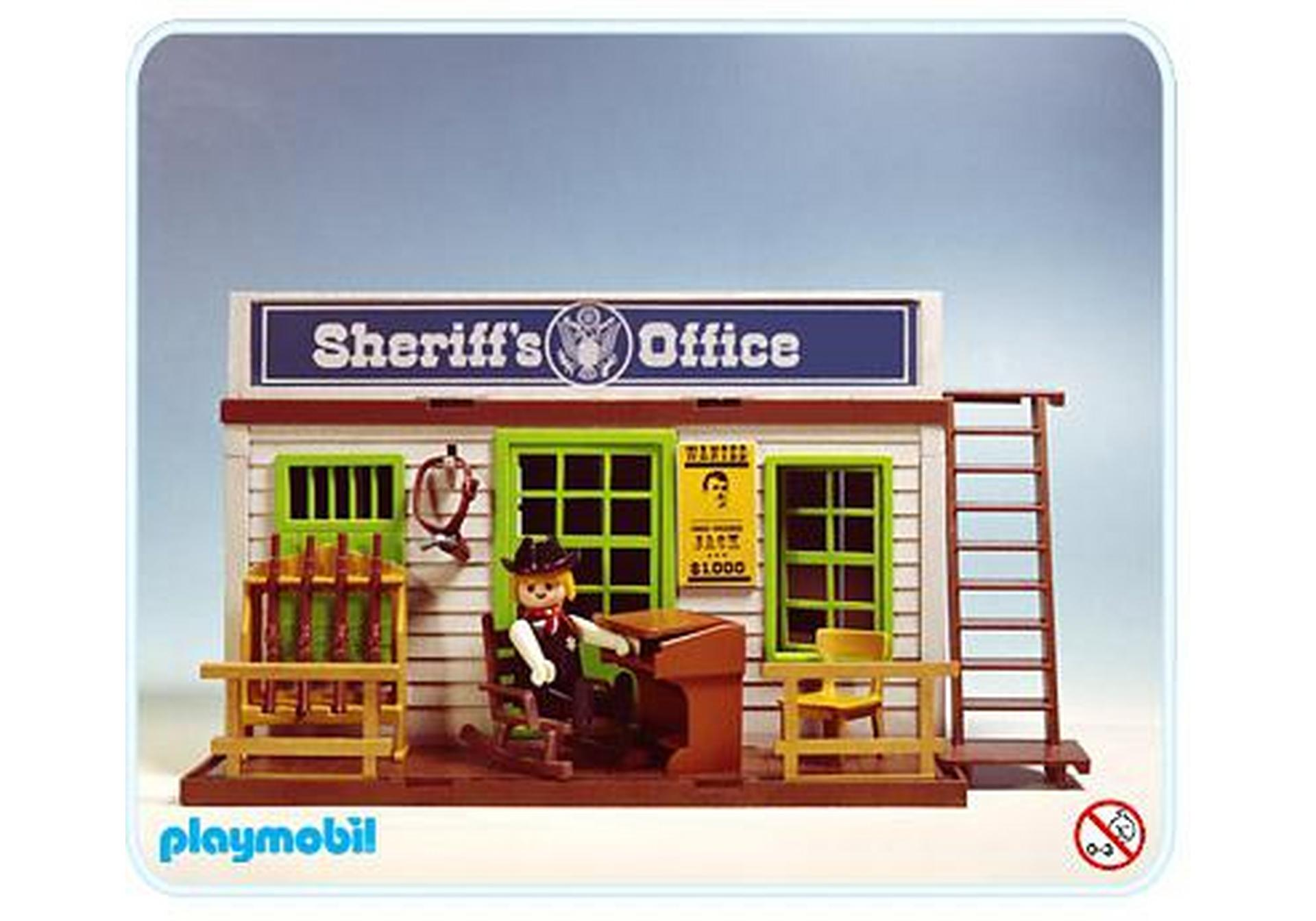 bureau du sheriff 3423 a playmobil france. Black Bedroom Furniture Sets. Home Design Ideas
