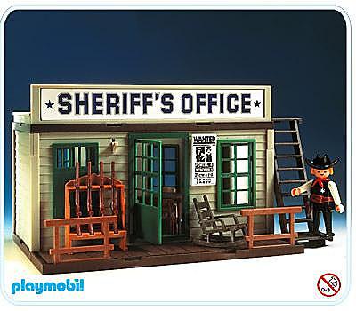 3423-B Bureau du sheriff detail image 1