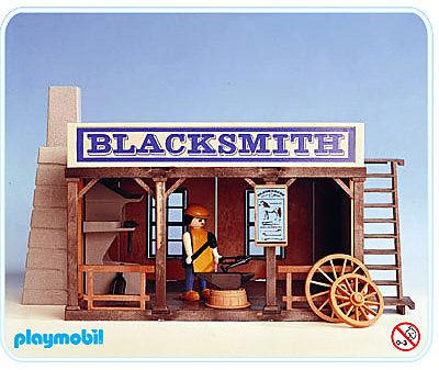 3430-A Blacksmith detail image 1