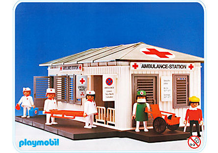 3432-A Ambulance Station detail image 1
