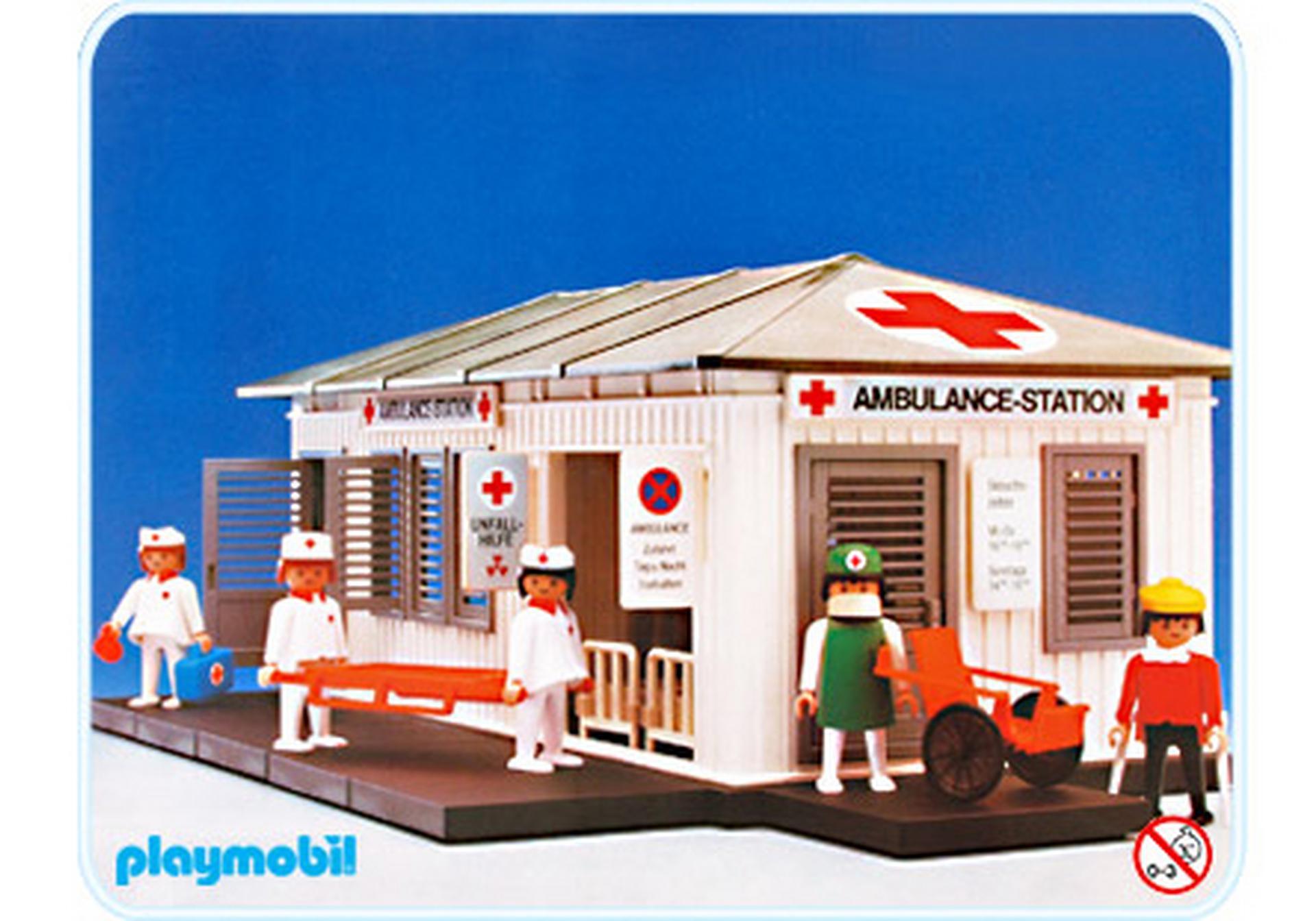 Ambulance station 3432 a playmobil deutschland for Jugendzimmer playmobil