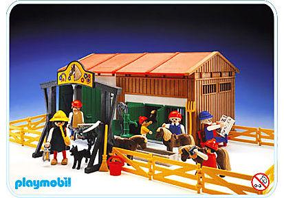 3436-A Manége de poneys detail image 1