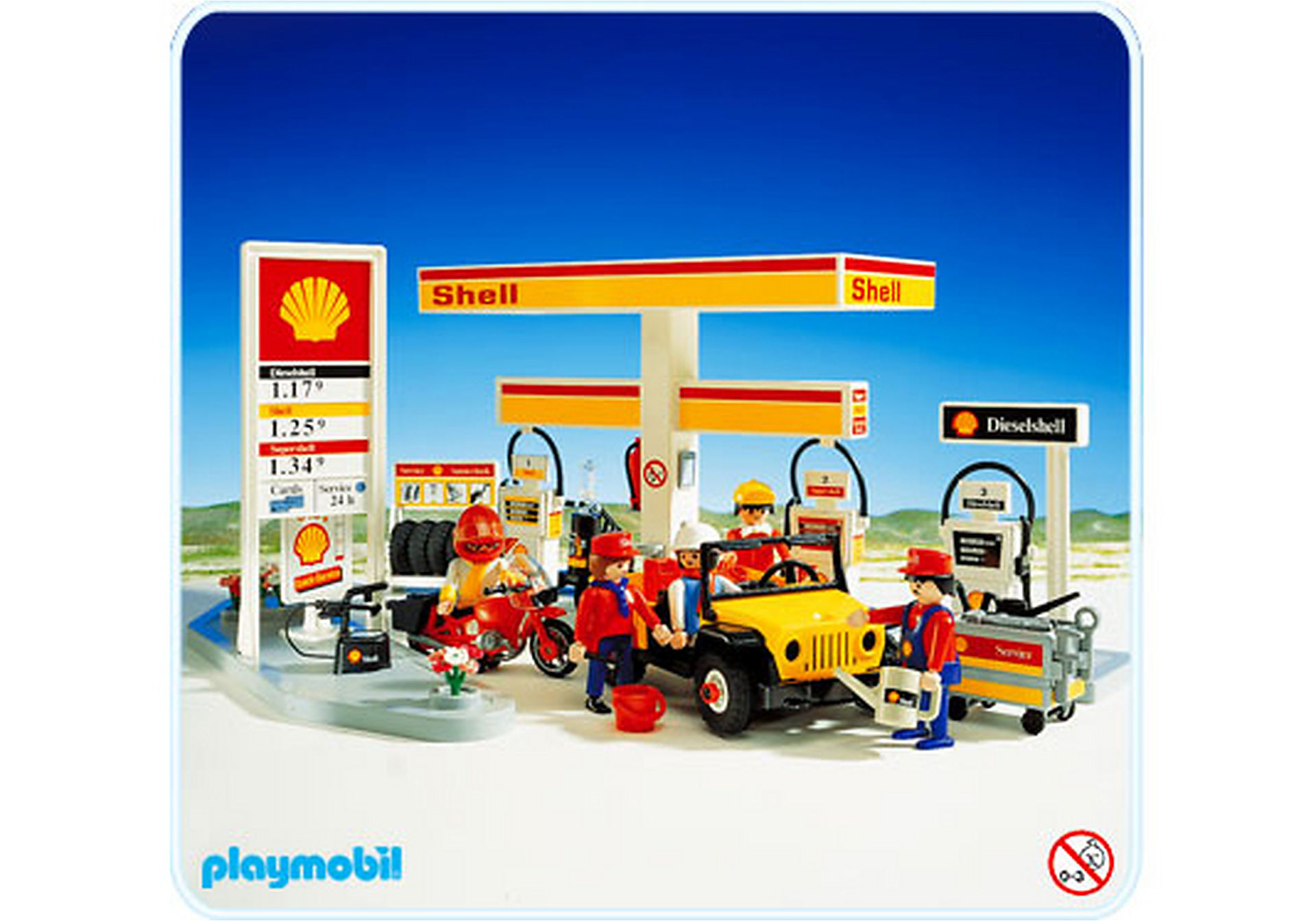 "3437-A Tankstelle ""Shell"" zoom image1"