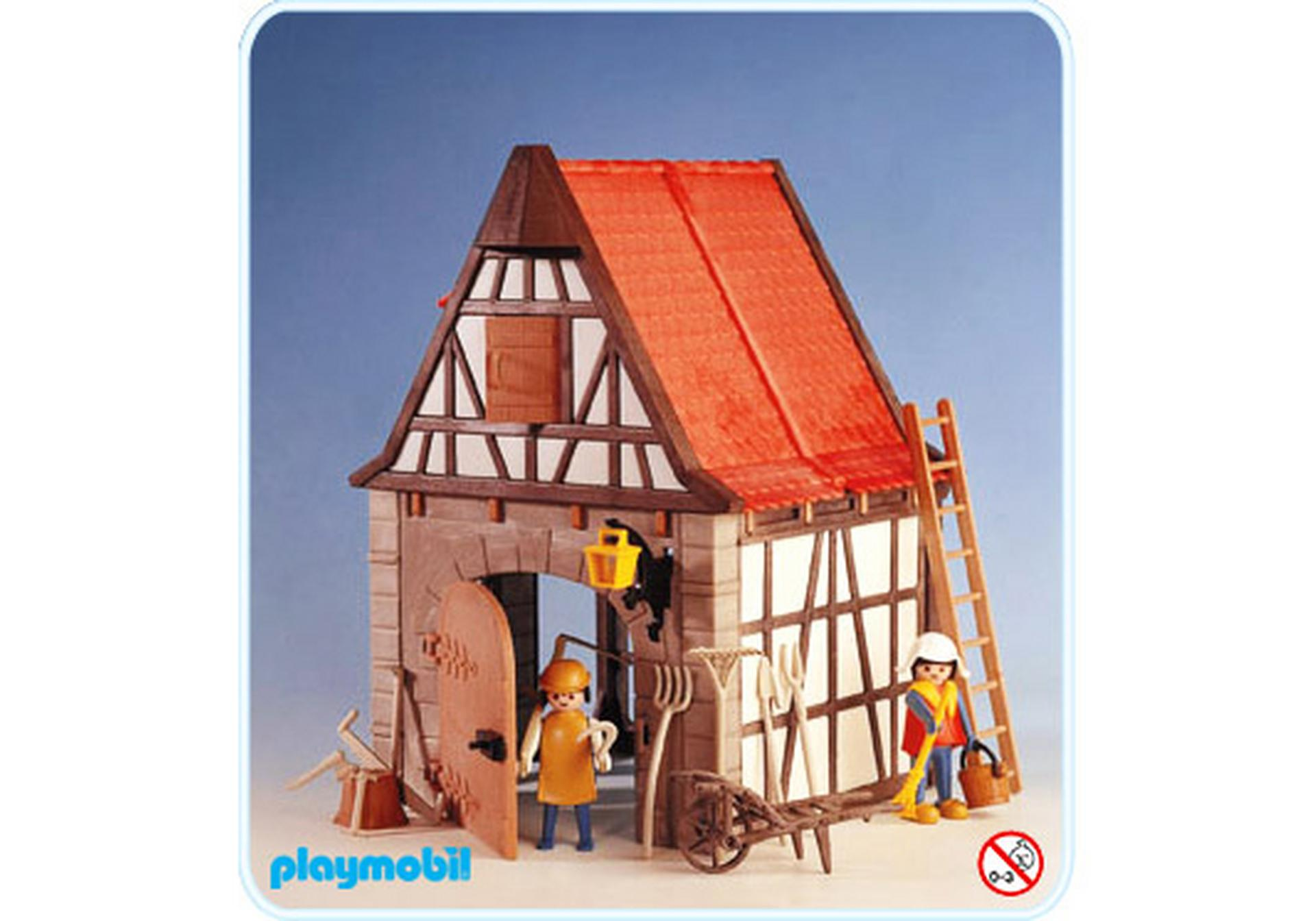 grange 3443 a playmobil france. Black Bedroom Furniture Sets. Home Design Ideas