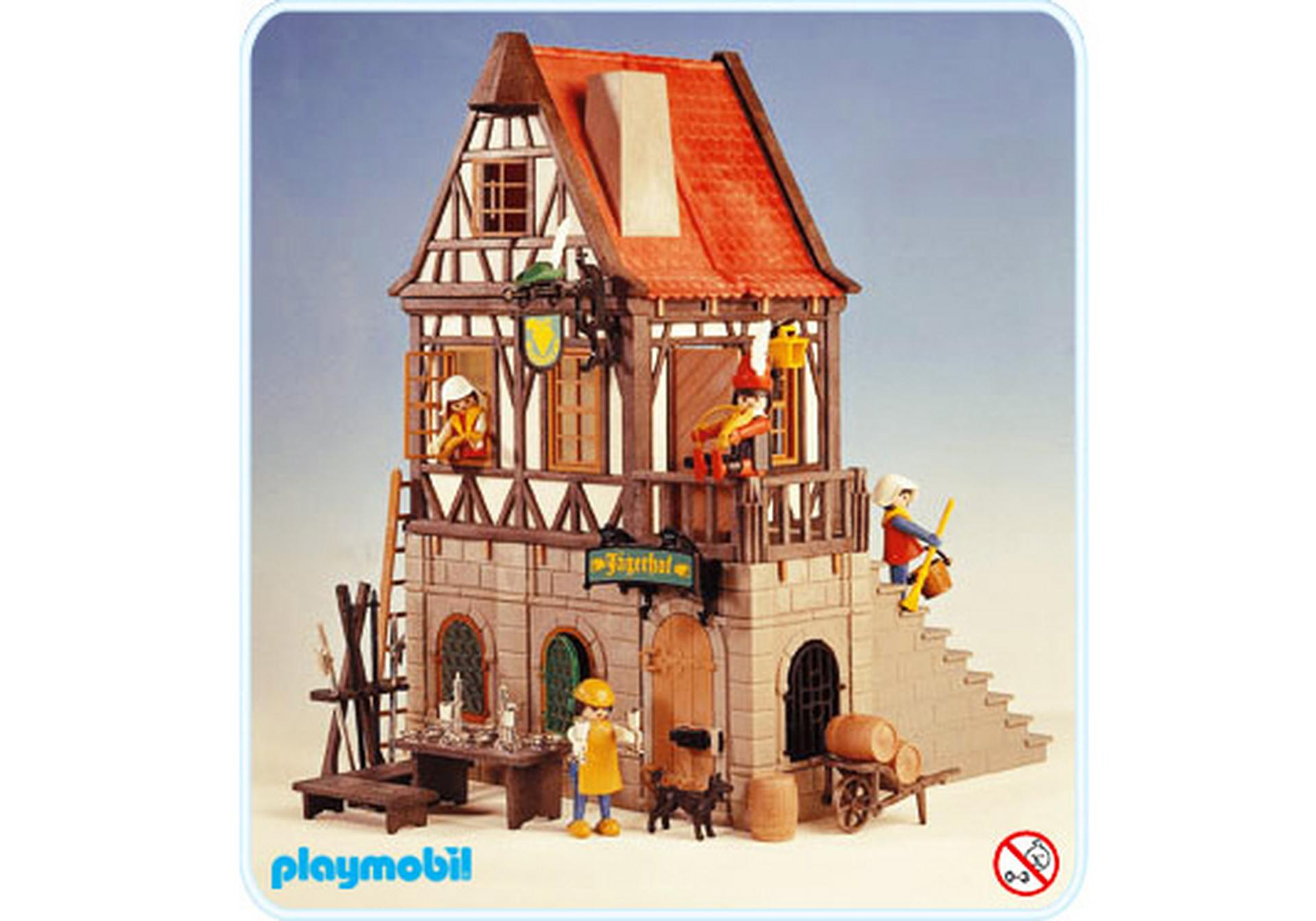 Auberge 3448 a playmobil france for Playmobil buanderie