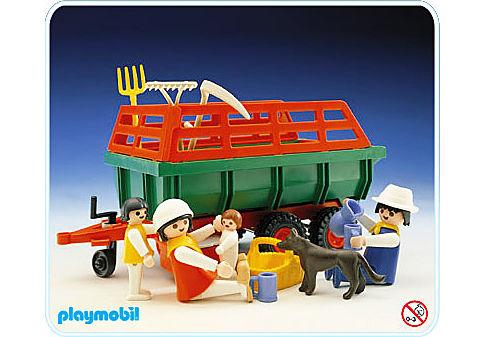 3451-A Chariot à moisson detail image 1