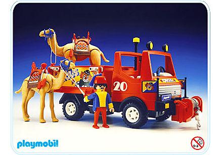 3452-A camion de cirque detail image 1