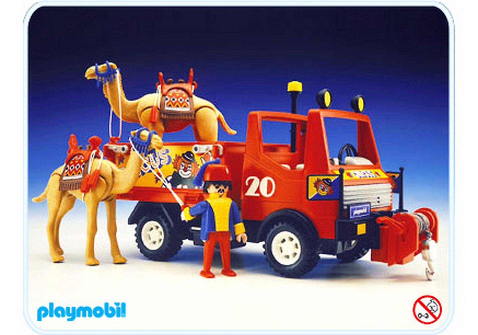 3452-A camion de cirque zoom image1