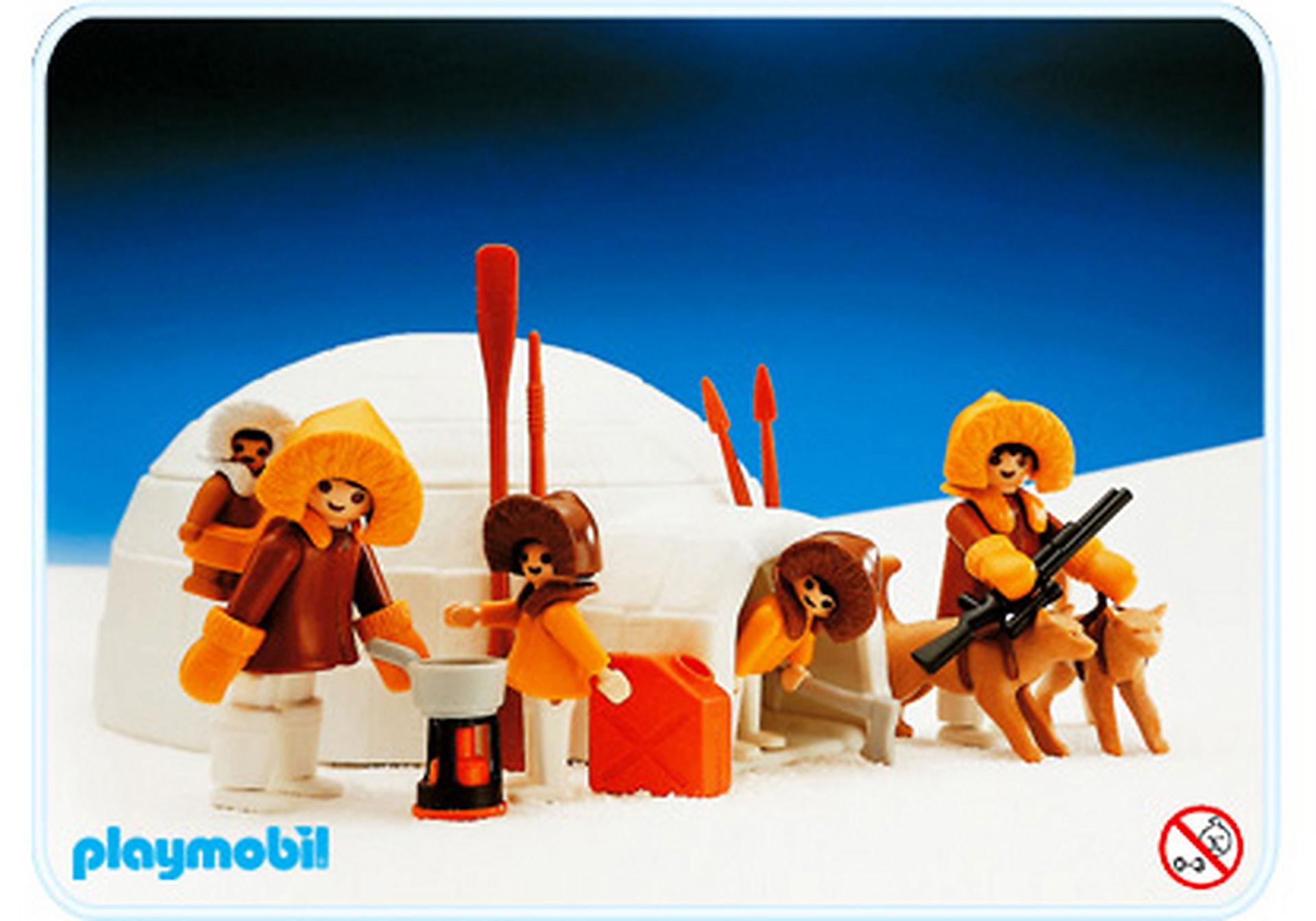 3465-A Eskimos/Iglu zoom image1