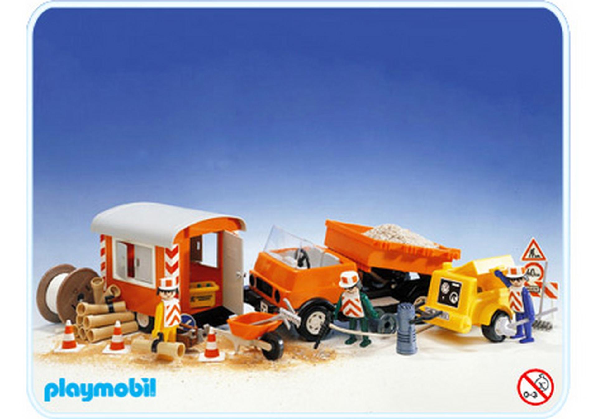 Baustellenfahrzeug 3474 a playmobil deutschland for Jugendzimmer playmobil