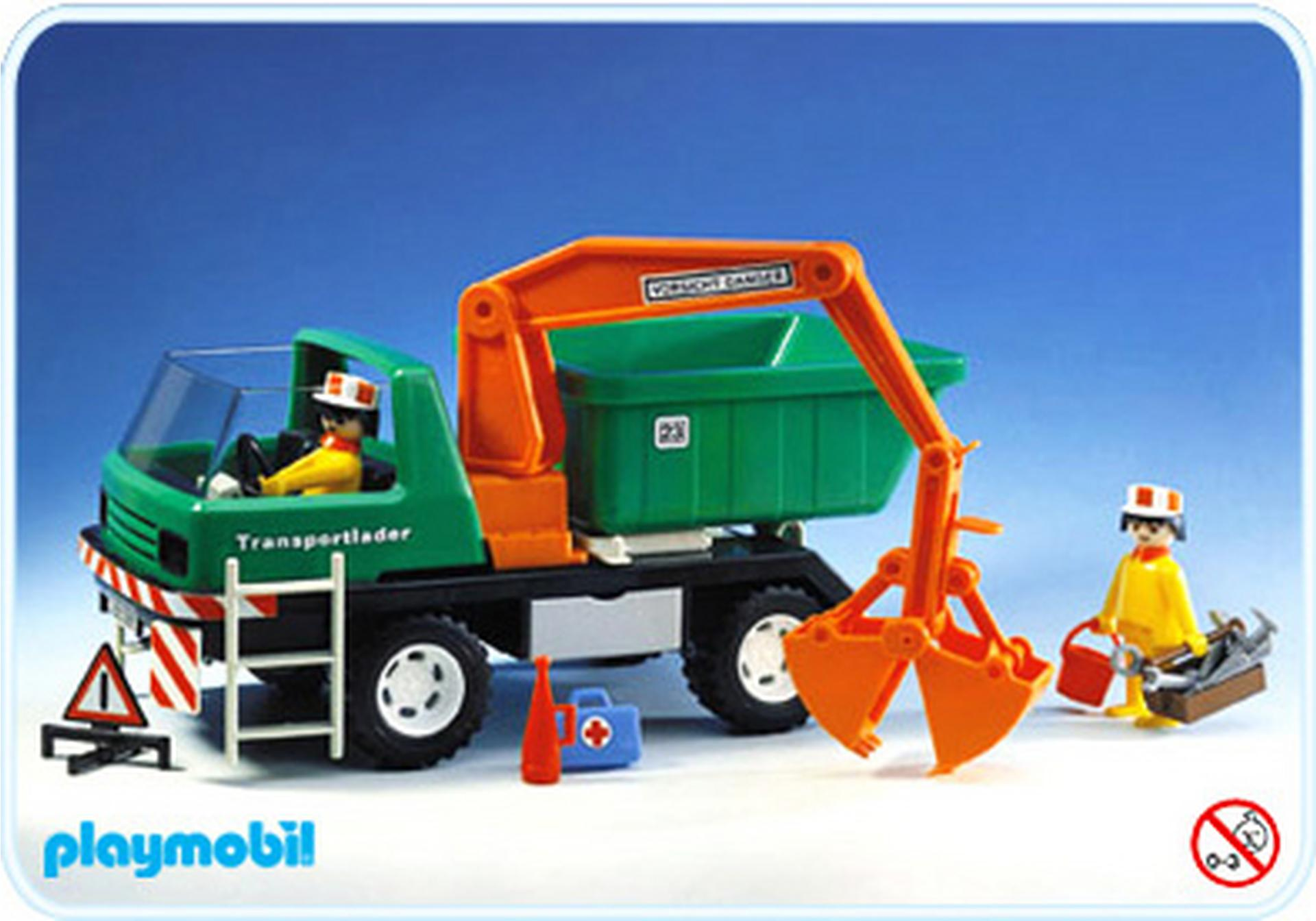 Camion grue benne 3475 a playmobil france - Playmobil camion ...