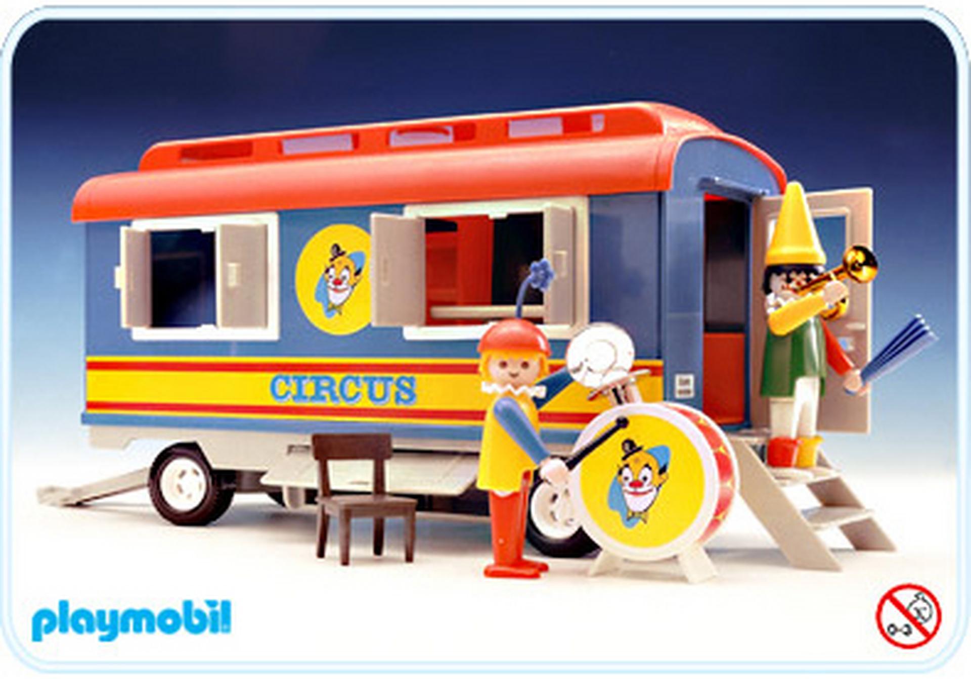 Zirkus wohnwagen 3477 a playmobil deutschland for Jugendzimmer playmobil