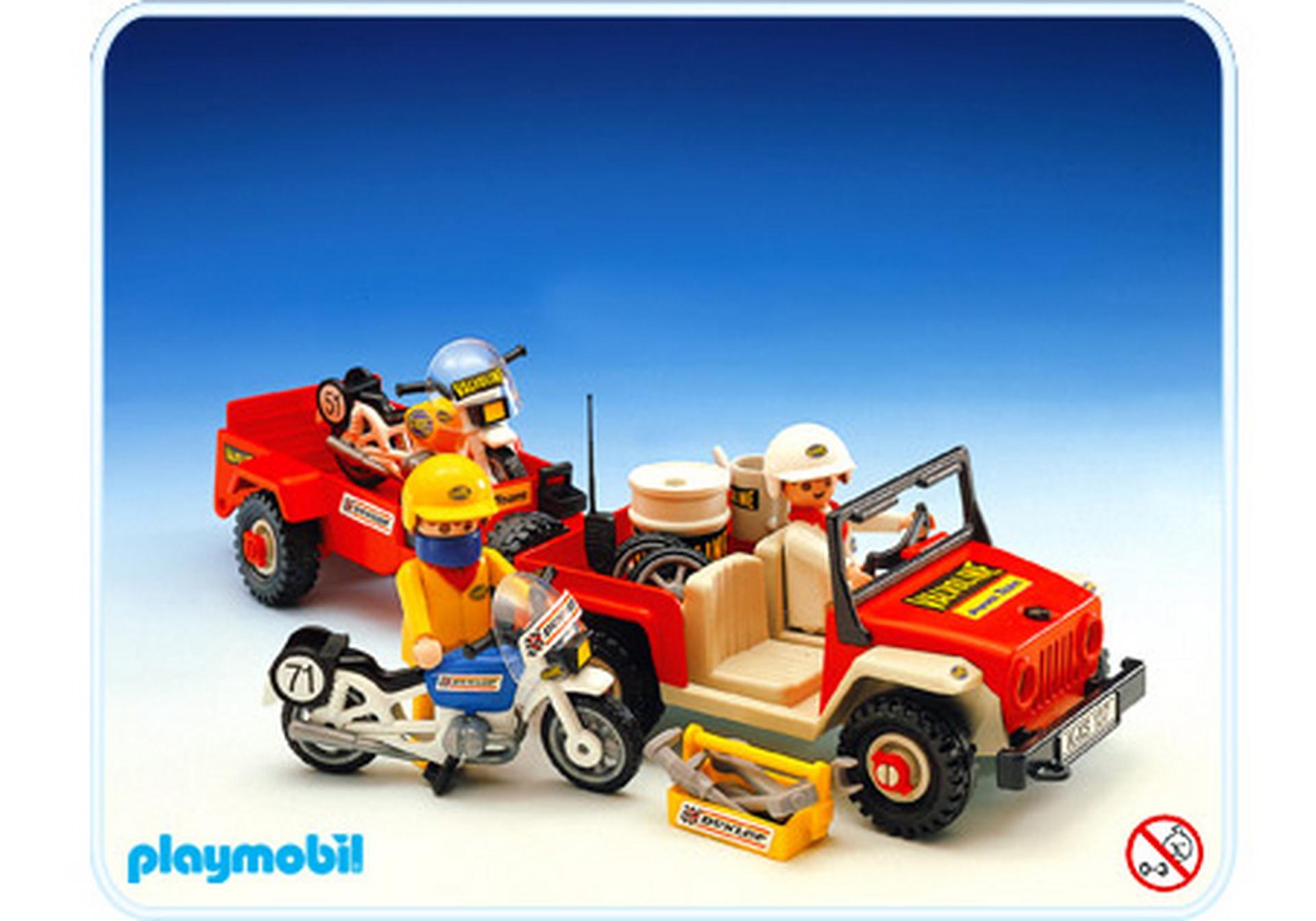 Gel ndewagen motorradanh nger 3478 a playmobil for Jugendzimmer playmobil
