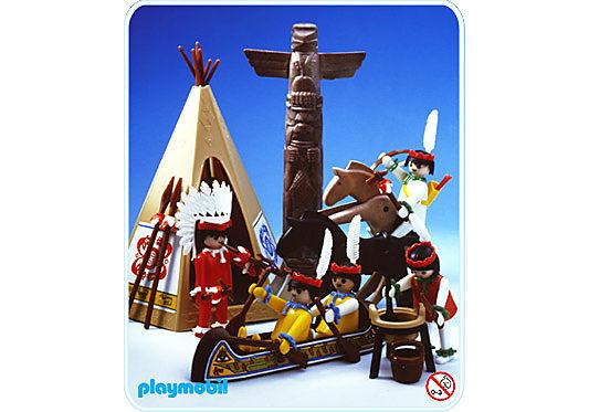 3483-A Indianer detail image 1