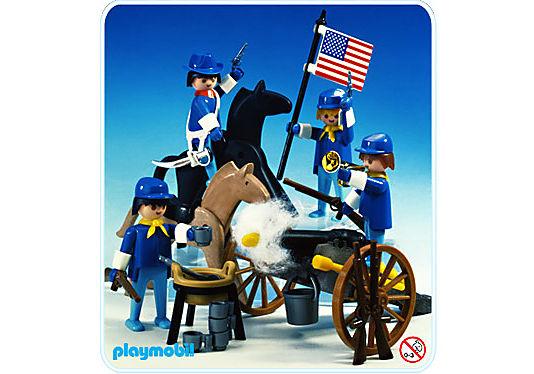 3485-A Cavalerie américaine detail image 1