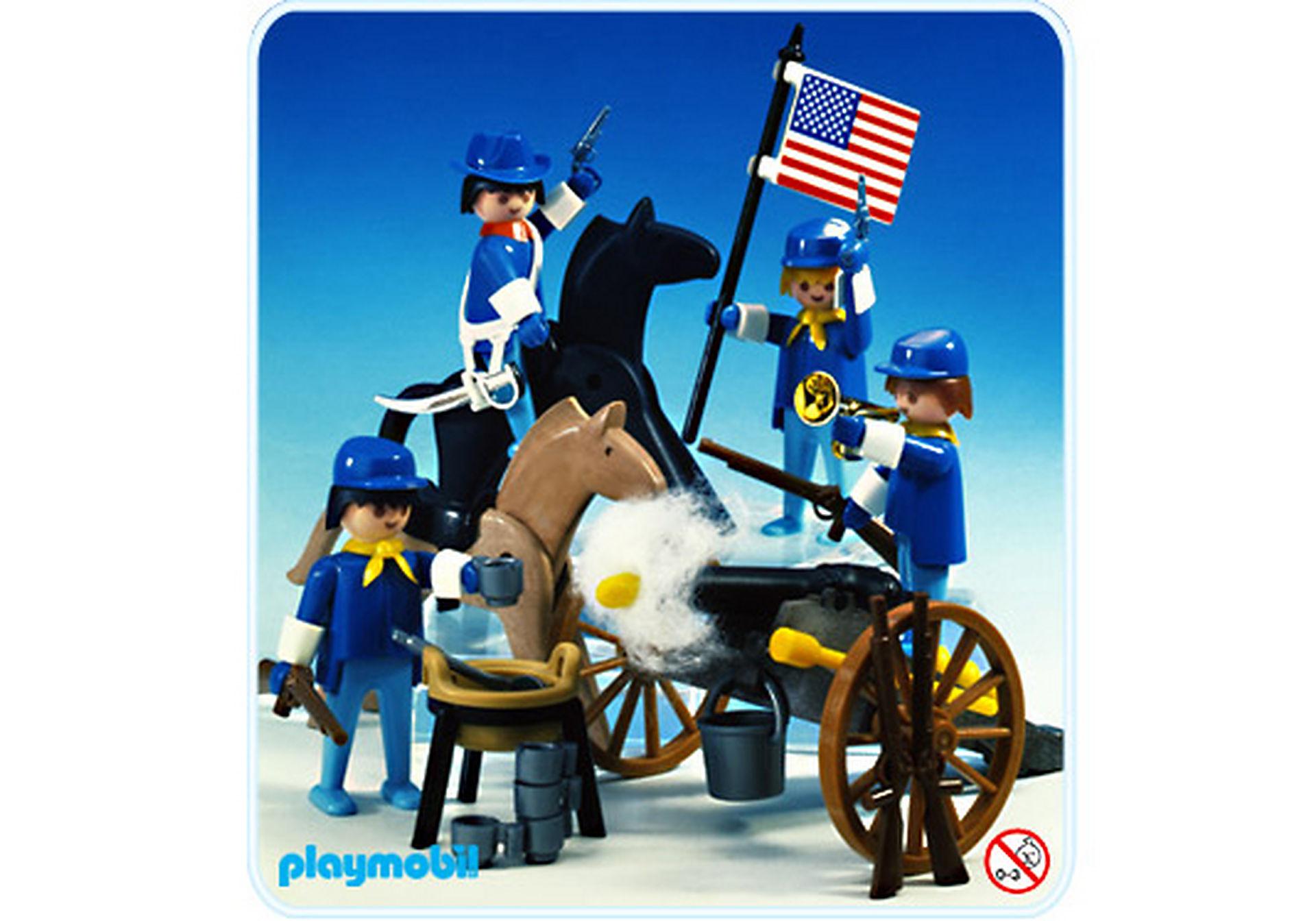 3485-A Cavalerie américaine zoom image1