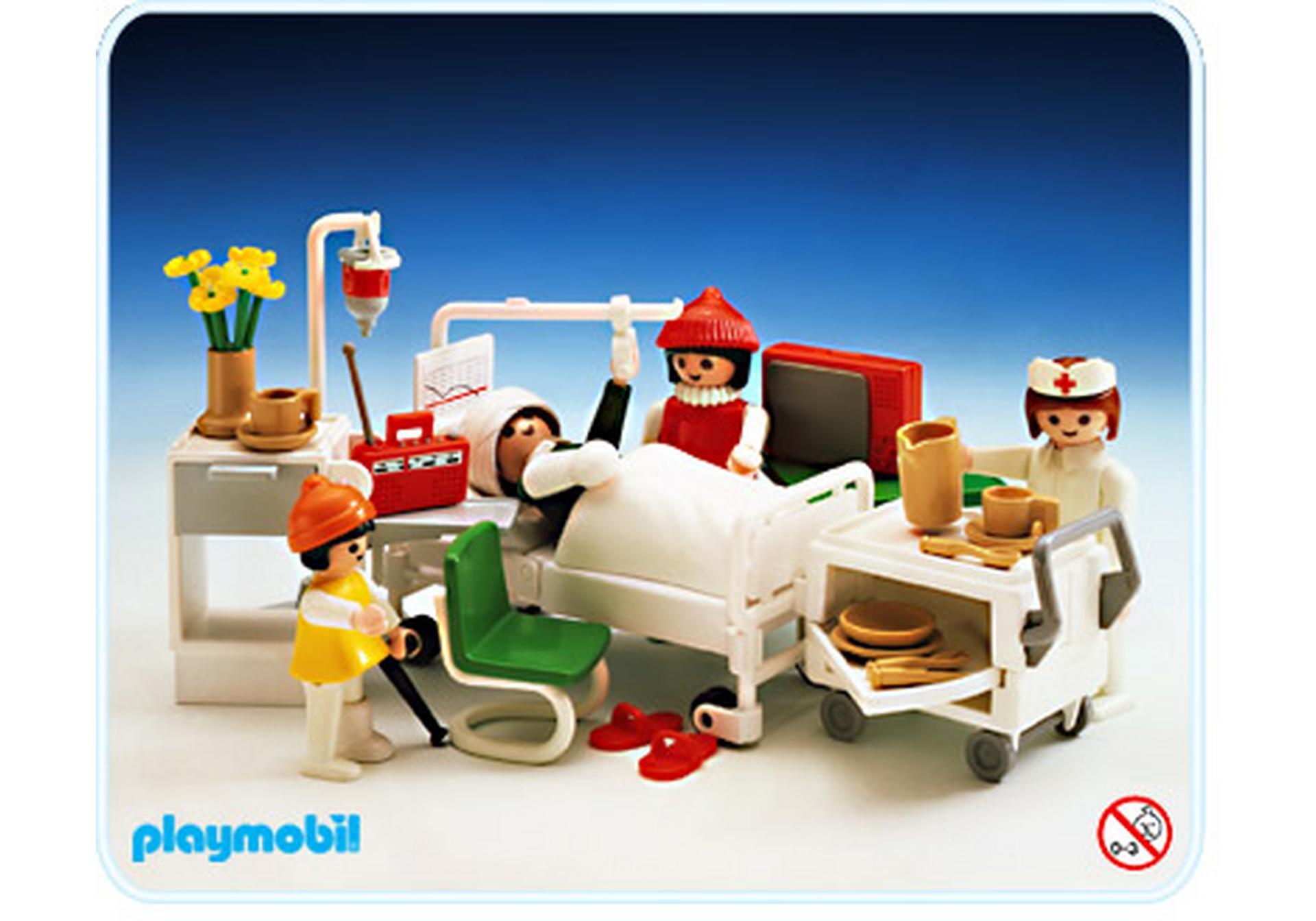 Krankenzimmer 3495 a playmobil deutschland for Jugendzimmer playmobil