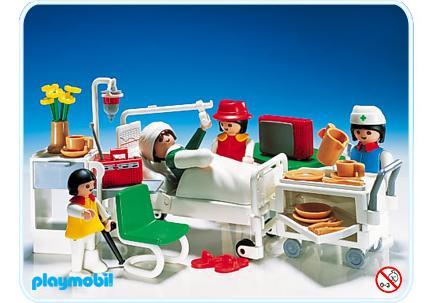 Krankenzimmer 3495 b playmobil deutschland for Hospital de playmobil
