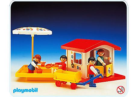 3497-A Spielhaus/Sandkasten detail image 1