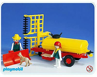 3502-A Citerne de tracteur detail image 1