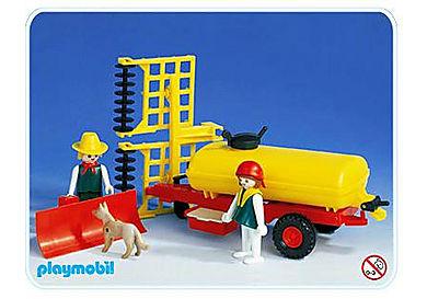 3502-A Düngerfass für Traktor