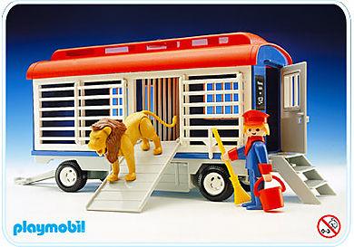 3514-B Zirkus-Käfigwagen