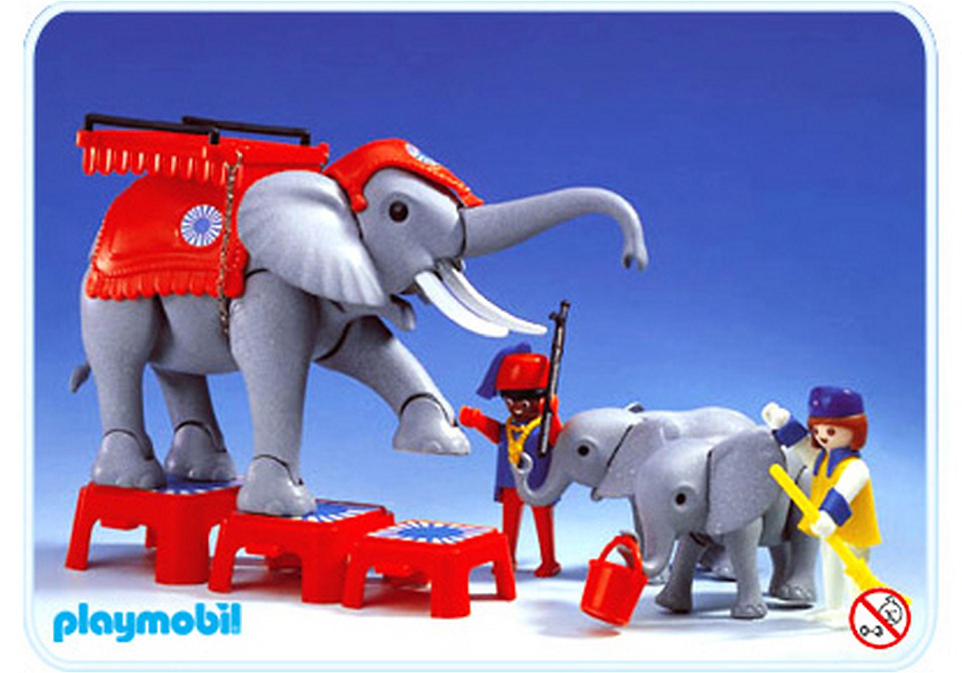 3519-A Dressage des éléphants zoom image1