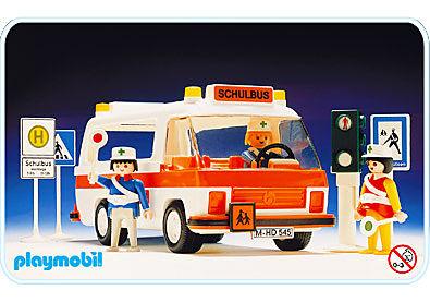 3521-A Schulbus detail image 1