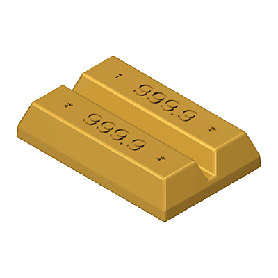 35219232_sparepart/Goldbarren-Kunststoff