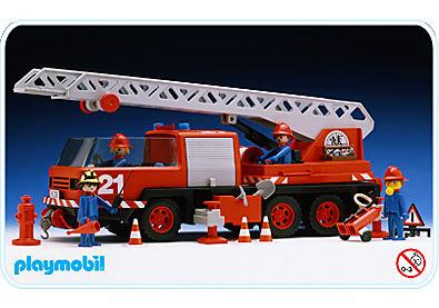 3525-A Feuerwehr-Leiterfahrzeug detail image 1