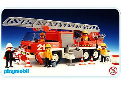 3525-B Feuerwehr-Leiterfahrzeug detail image 1