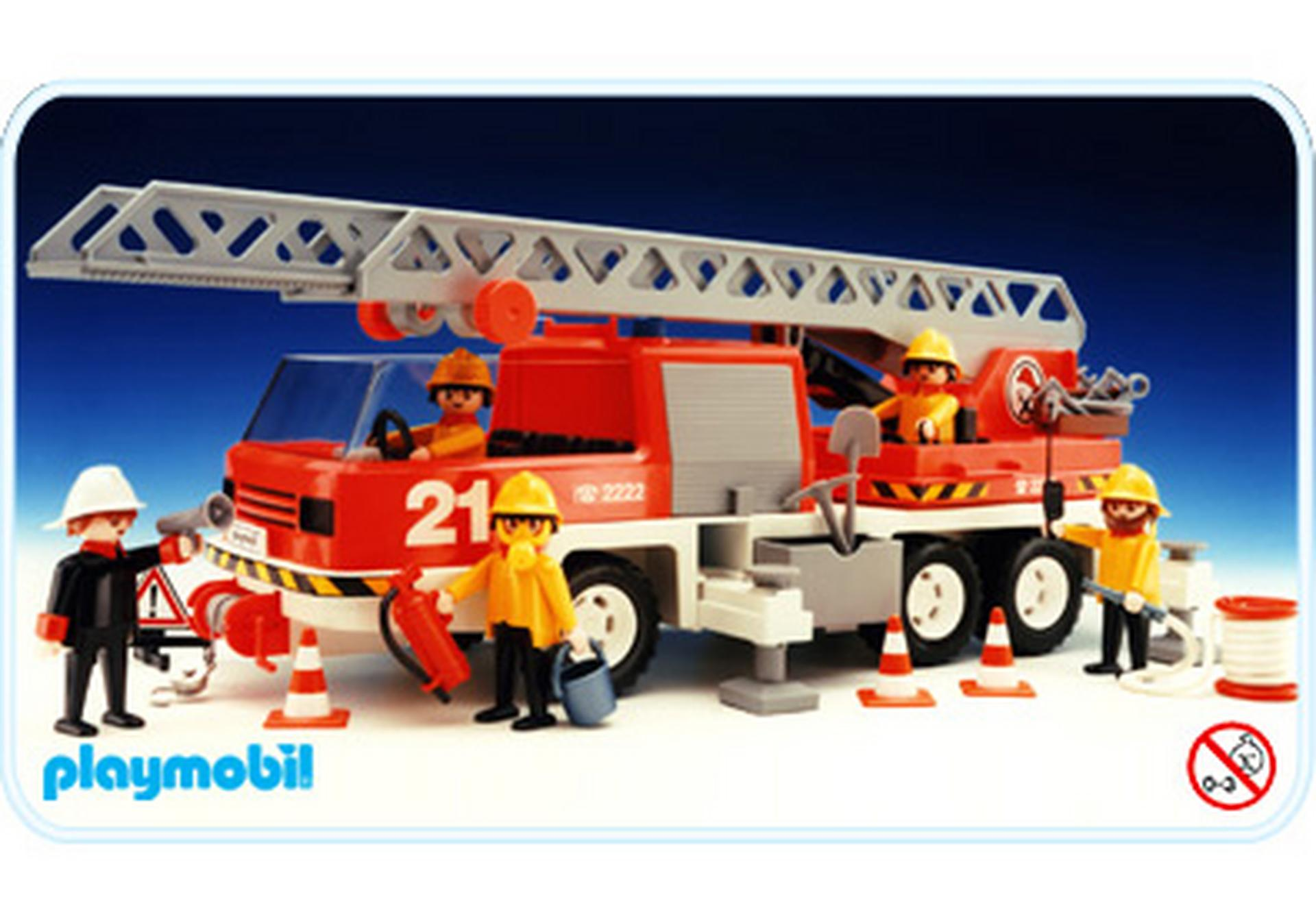 Camion pompiers 3525 b playmobil france - Playmobil camion ...