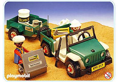 3532-A Geländewagen mit Anhänger