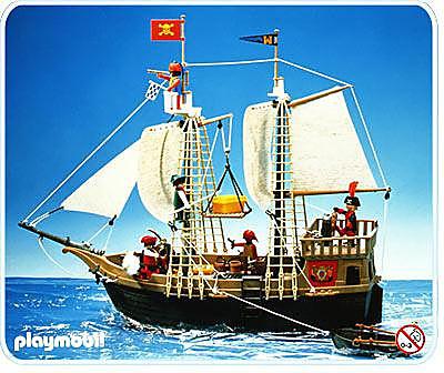 3550-A Piratenschiff detail image 1