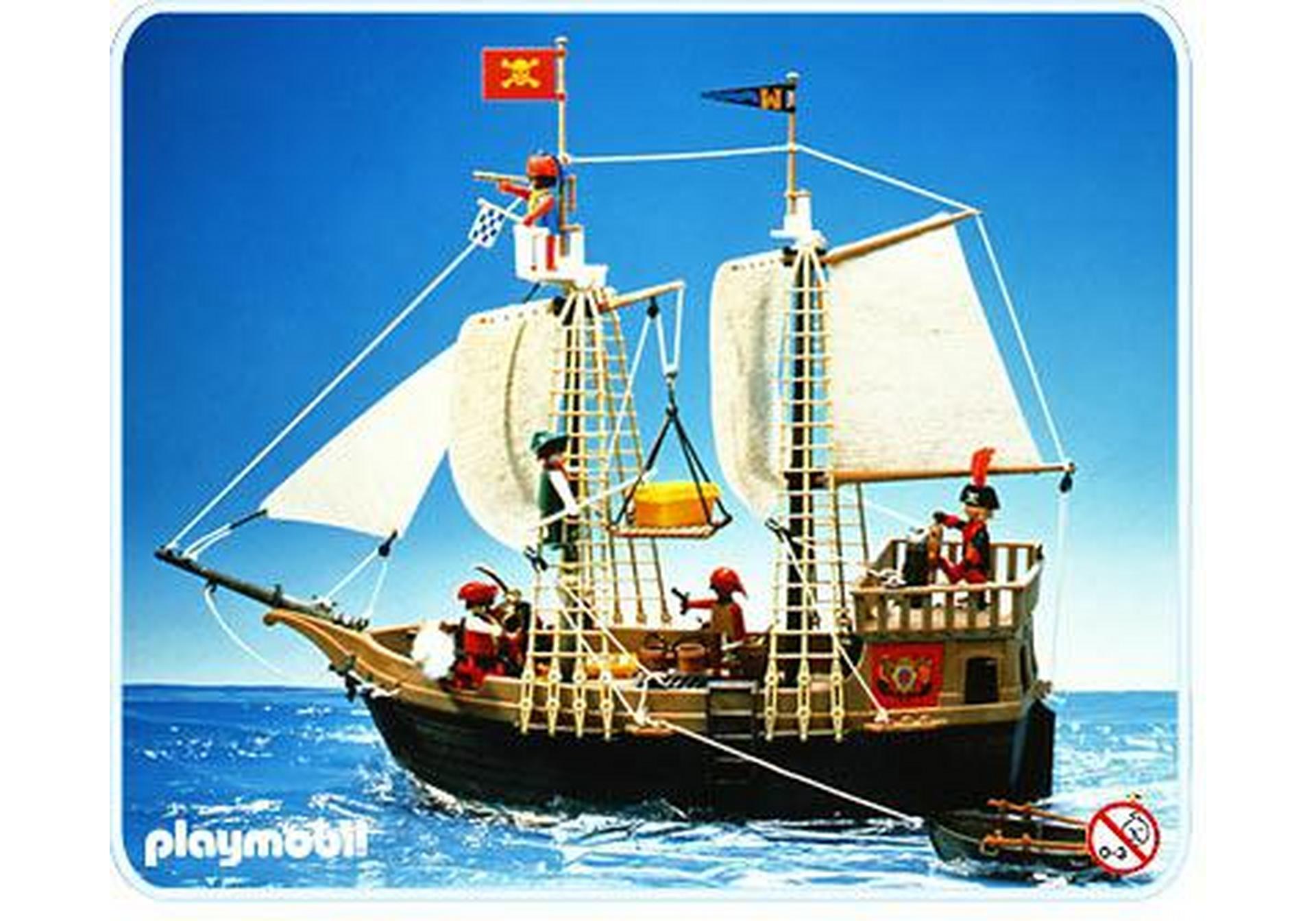 Piratenschiff 3550 a playmobil deutschland for Barco pirata playmobil