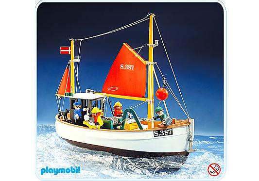 3551-A Bateau de pêche detail image 1