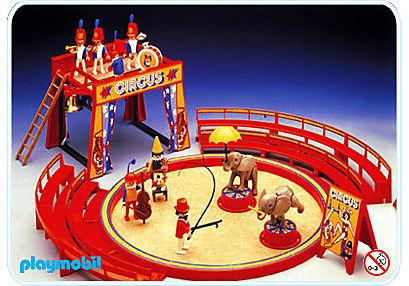 3553-A Manége cirque detail image 1