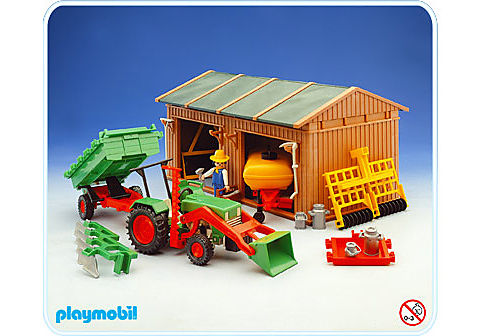3554-A Geräteschuppen,Traktor usw. detail image 1