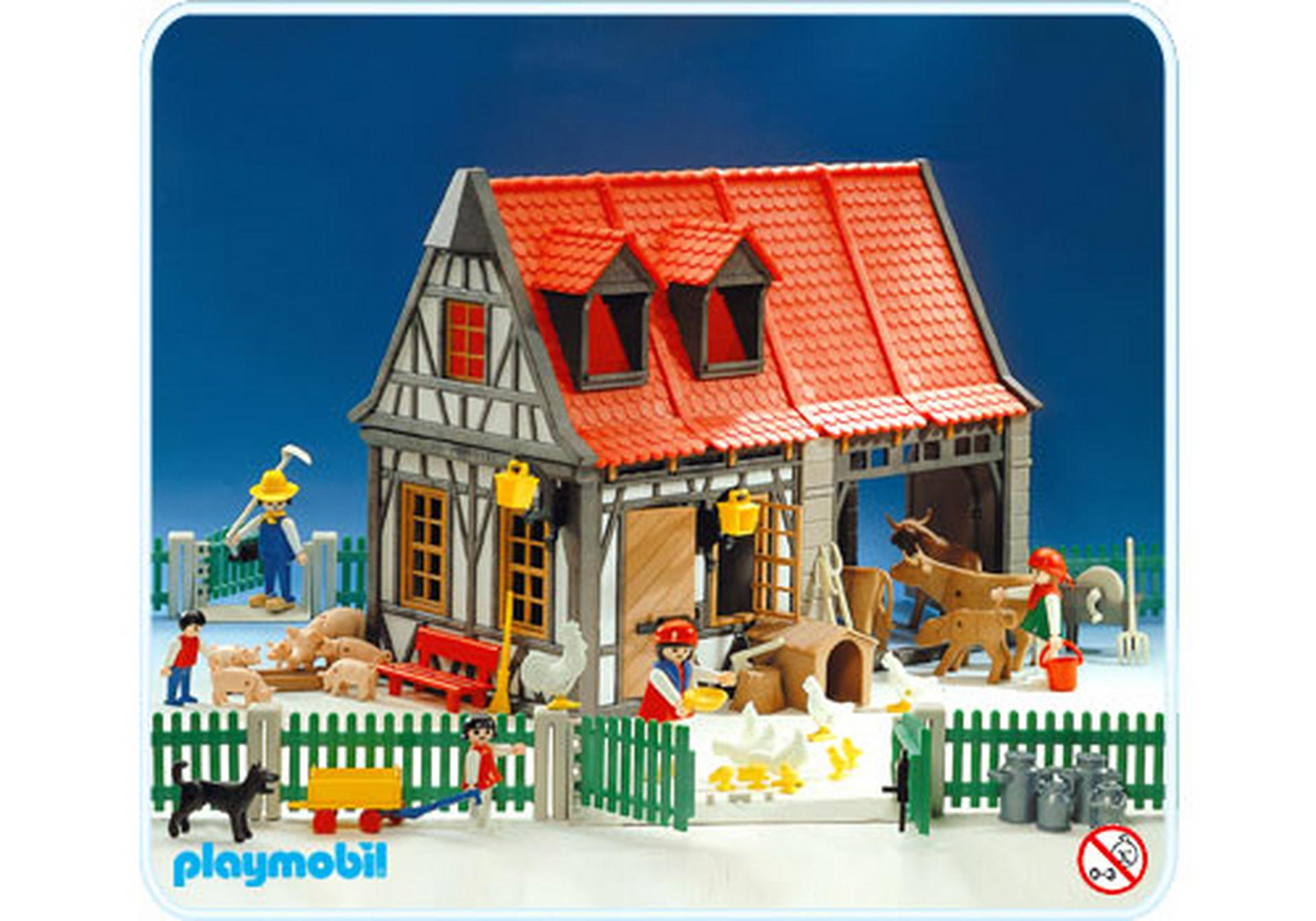 Ferme 3556 a playmobil suisse for Playmobil buanderie