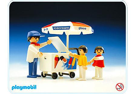 3563-A Eisverkäufer detail image 1
