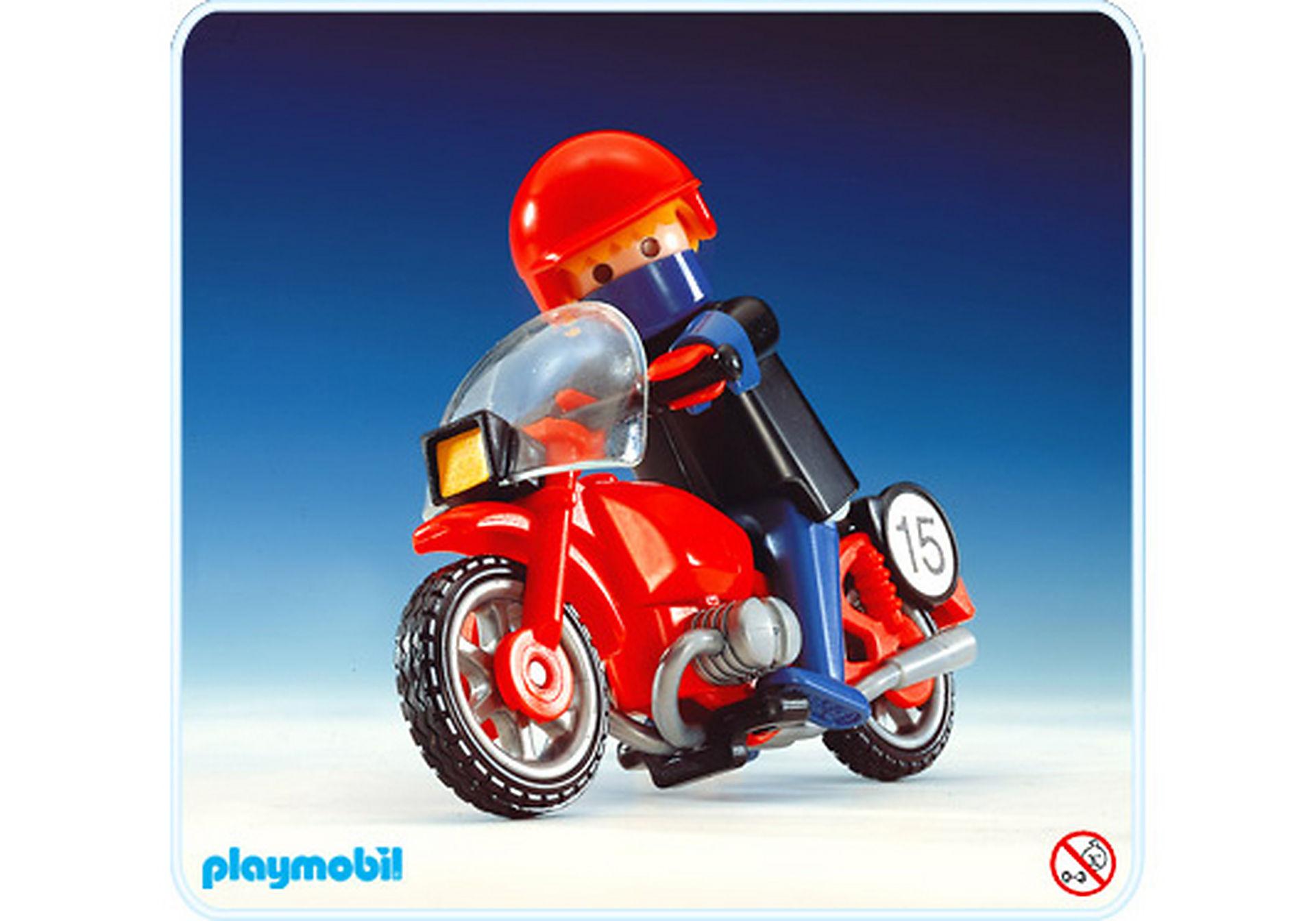 3565-A Rennfahrer/Motorrad zoom image1