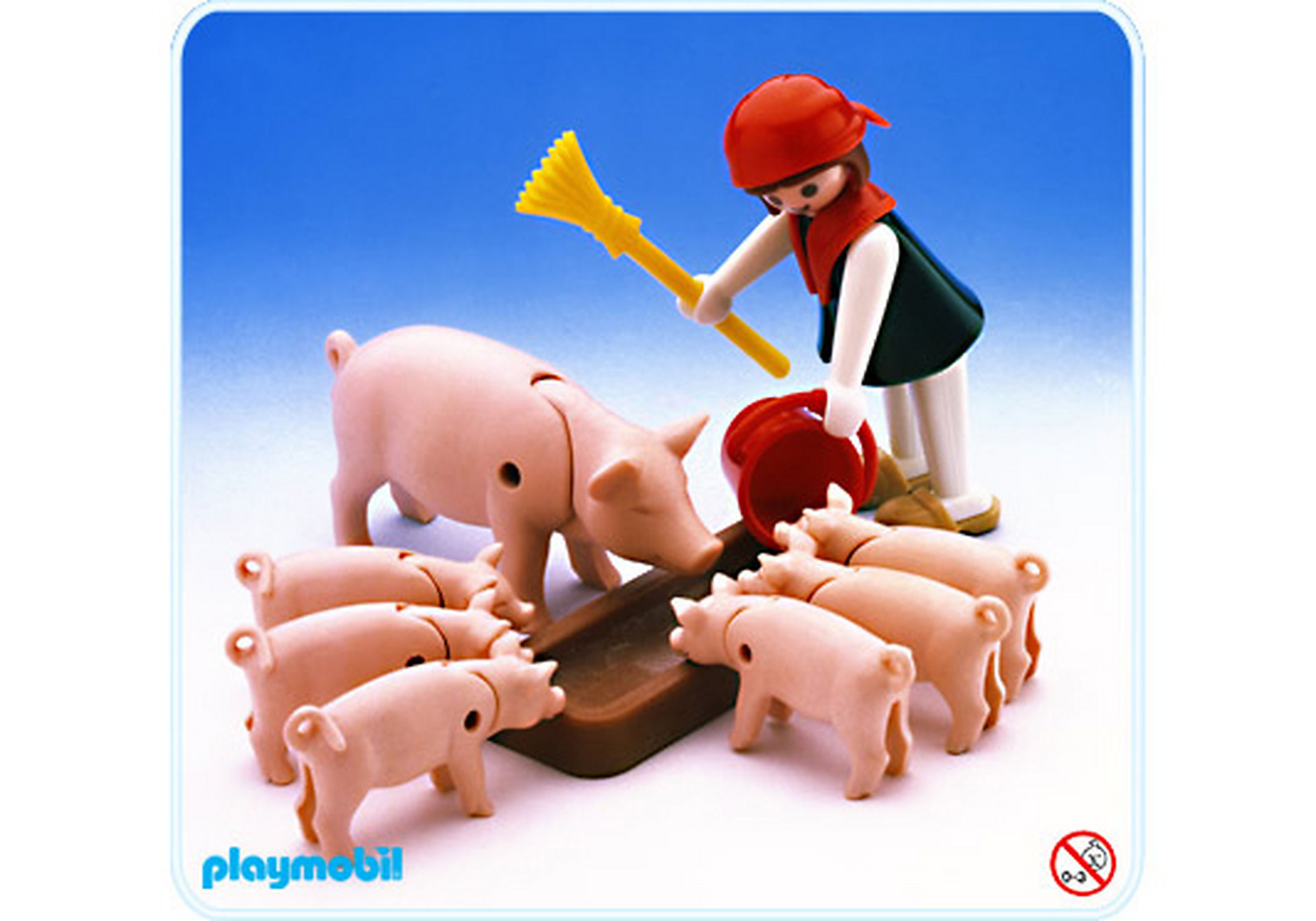 3566-A Mutterschwein/Ferkeln zoom image1