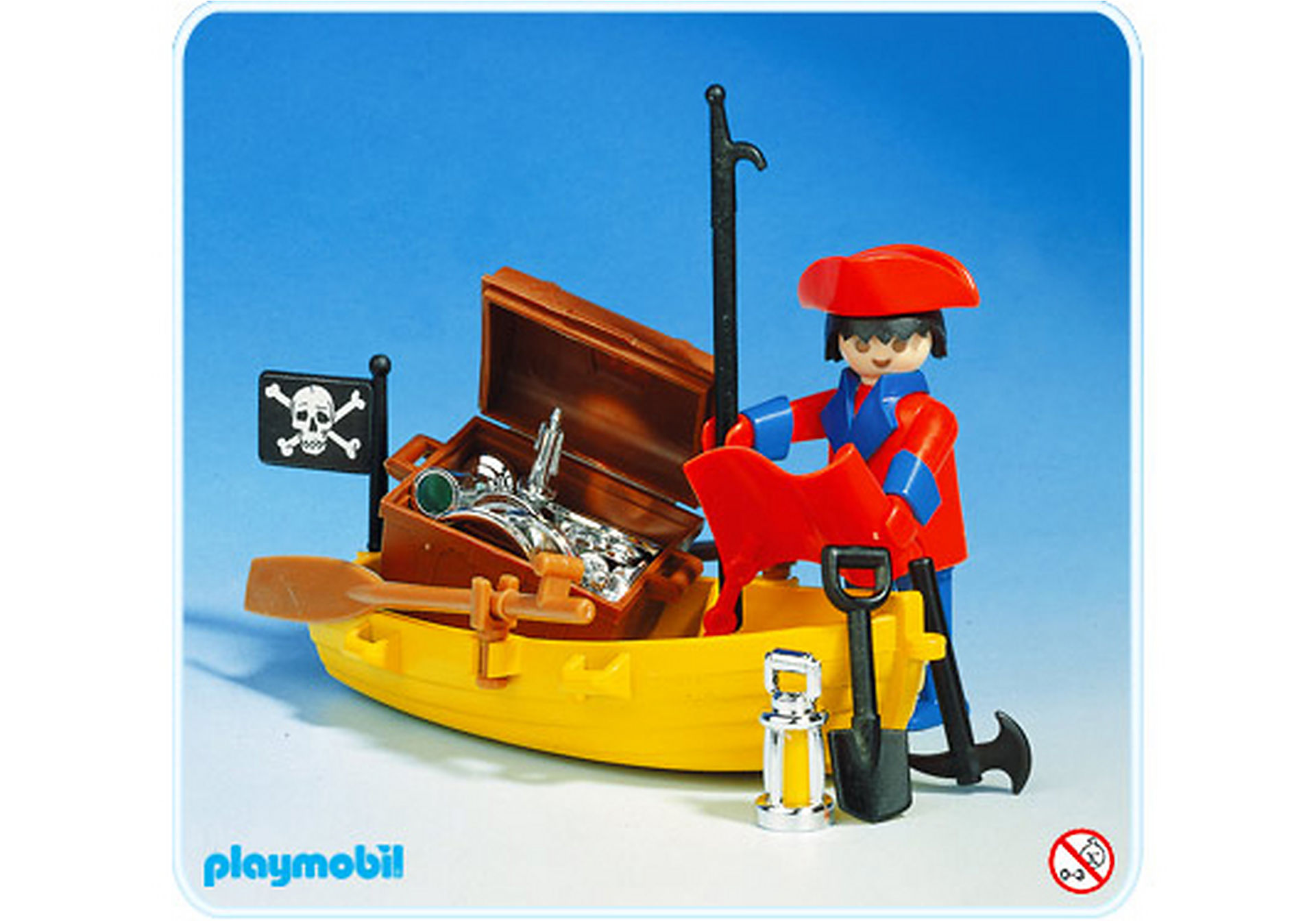3570-A Pirat/Ruderboot zoom image1