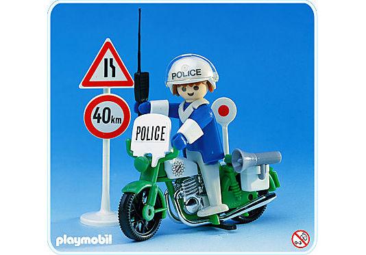 3572-A Polizist/Motorrad detail image 1