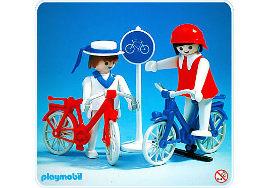 3573-A 2 Radfahrer detail image 1