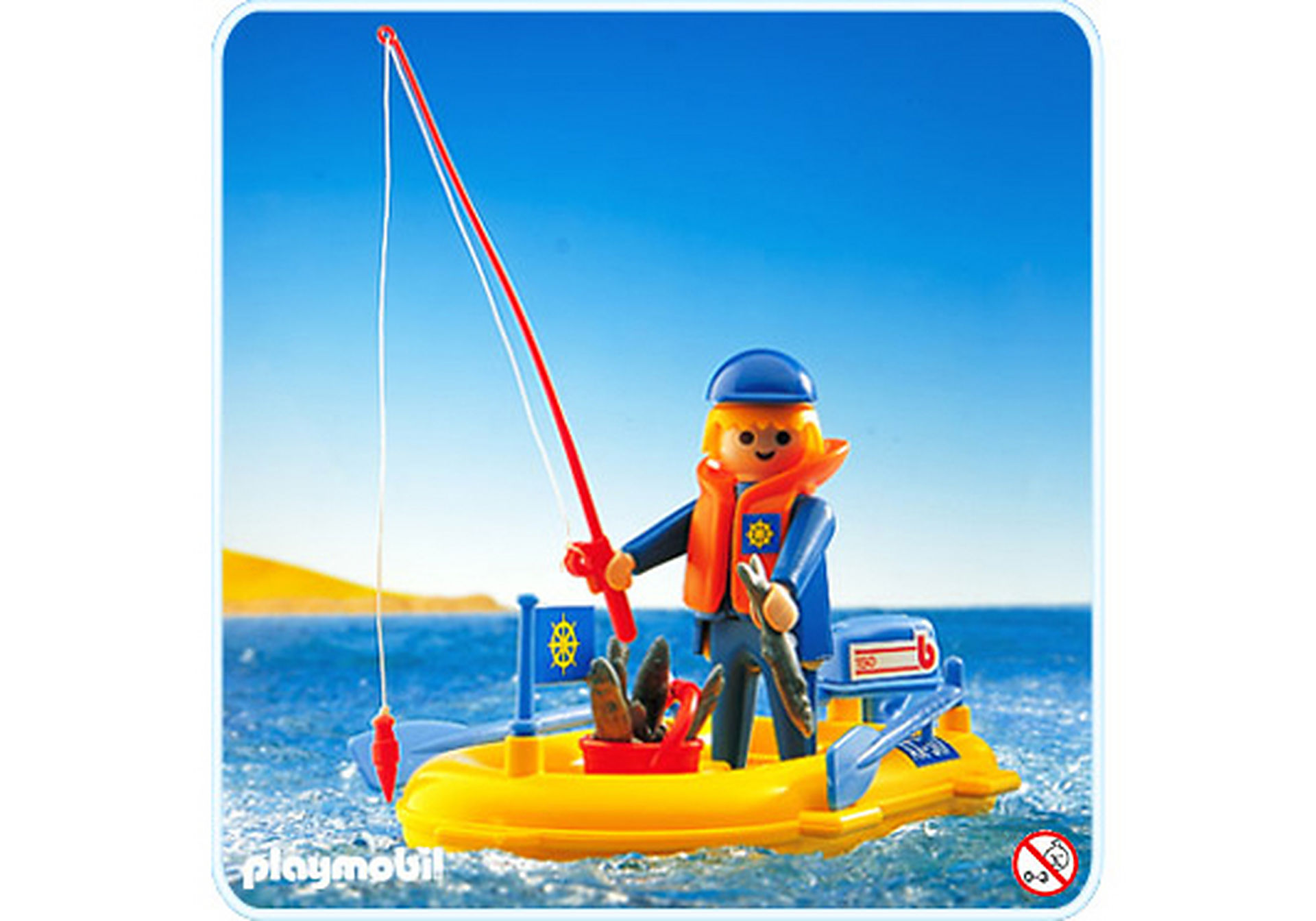 3574-B Angler/Schlauchboot zoom image1
